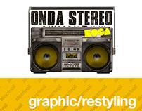 Onda Stereo Boca - Logo Restyling