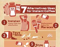 Instant Coffee Infographic