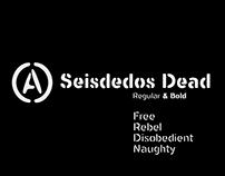 Seisdedos Dead Fonts