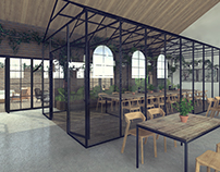Restaurant / Kuchnia Darwina - szklarnia