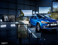 Mitsubishi ASX - Escape Your Virtual Life press ad