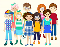Character Design Staff , L&C. Aniamtion Studio