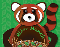 Cereal Box Mockup- Organic Children's Cereal Miko Munch