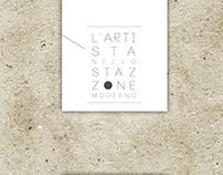 L'artista / ArtExhibition flyer, catalogue, panels
