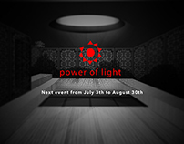 Power of light - Research Poster