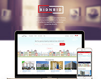 Bidnbid Website Design
