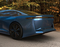 ED Design - Luxury Sedan Vision