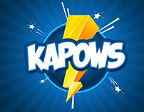 Branding, Logo Design & Package Design for Kapows
