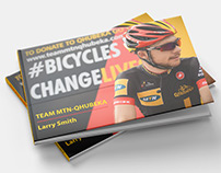 Editorial Design: MTN-Qhubeka Cycle Tour Photobook