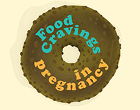 Food Cravings in Pregnancy - book cover