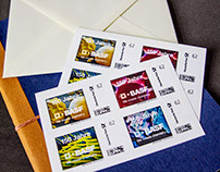 BASF Commemorative Stamps