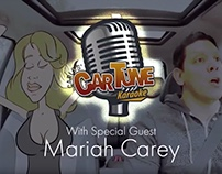 Carlos' CarTune Karaoke with Mariah Carey