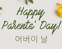 Happy Parent's Day Korea EDM