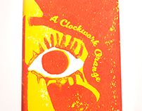 A Clockwork Orange Book Jacket