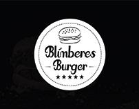 Blímberes Burger - Visual ID project.