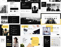 4 in 1 Company Best Presentation PowerPoint templates