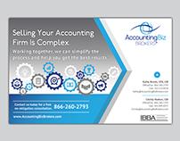 Print Ad for AccountingBiz Brokers