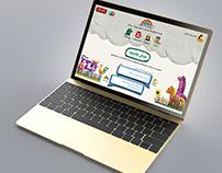 Al-Adwaa website Concept for Kids