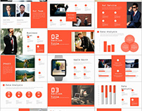 27+ Creative infographics annual report PowerPoint Temp