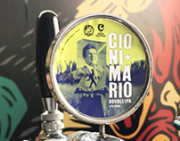 CIONI MARIO / Beer Tap Label