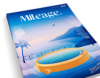 Mileage Magazine Illustration