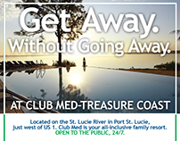 Flyer for Club Med, Port St. Lucie, Florida