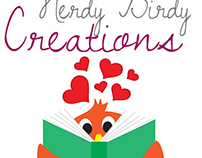 Logo and Branding | Nerdy Birdy Creations