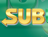 Subway - Logo 3D