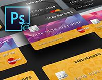PSD Mock-Ups / Credit Card / Bank