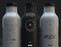 Milk Bottle - Packaging