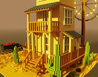 3D Pixel Art - 03