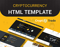 Crypto Trade - Bitcoin and Cryptocurrency HTML Template