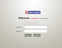 HDFC Bank Intra Portal Design