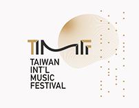 TIMF 臺灣國際音樂節識別 Taiwan Int'l Music Festival Branding