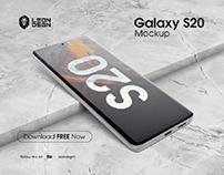 Free Samsung Galaxy S20 - Device Mockup