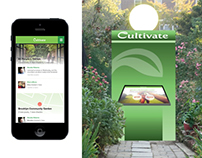 Cultivate | Urban Gardening App & Kiosk Design