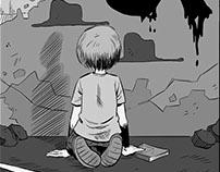 """Páginas para el cómic """"PRINCIPITO DEBE MORIR"""""""