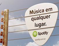 Ação para Spotify - Conceito Música em qualquer lugar
