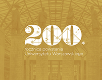 200th anniversary of University of Warsaw