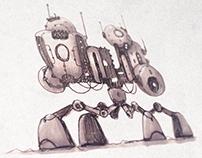 Mechanuary II : Sketchbook