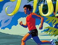 Brooks Running Run Happy Island