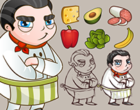 Food Game Items & Characters