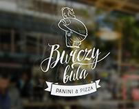 Logotype Burczy buła