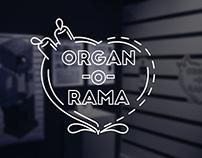 ORGAN-O-RAMA Graphic Design Capstone Exhibition