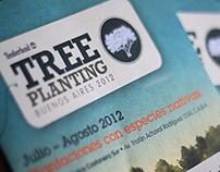 Diseño gráfico - Acción Treeplanting 2012 - Timberland