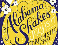Alabama Shakes Gig Posters