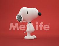 3D | Snoopy MetLife