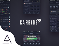 """Carbide UI"" Sportsbook app UI"