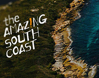 The Amazing South Coast website design