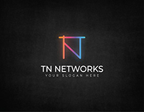 TN Networks Logo Design
